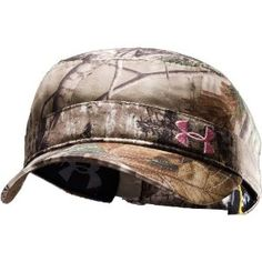 under armour camo hat, want thiss! :)