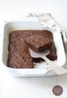 Chocolate Zucchini Cake (egg and dairy free)