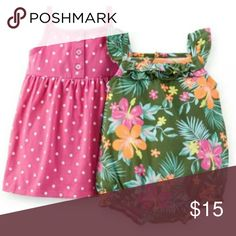2 Piece Outfit Set New with tags Carters Matching Sets