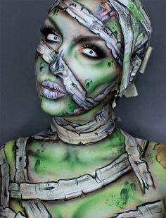 Creative Halloween Makeup Ideas: Mummy Halloween Makeup
