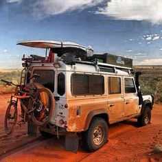 Defender 110...Well equipped to go absolutely anywhere