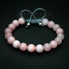 Rosa pulsera joyas para mujer pulsera ajustable regalo de