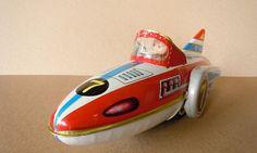 friction rocket racer tin toy - MF-742 - China