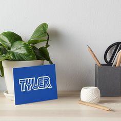 'Gamer name Tyler' Art Board Print by el-patron Framed Prints, Canvas Prints, Art Prints, Gamer Names, Games To Buy, Watercolor Paper, Art Boards, Graduation, Presentation