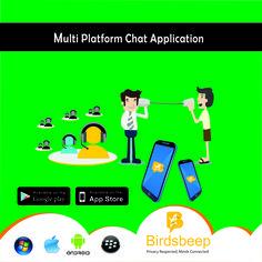 #BirdsBeep - Multiplatform Chat Application