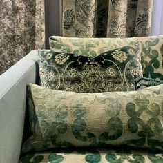 Chintz & Company - Decorative Furnishings - Cushions Bed Pillows, Cushions, Designers Guild, Pillow Cases, Tapestry, Patio, Interior Design, Furniture, Home Decor