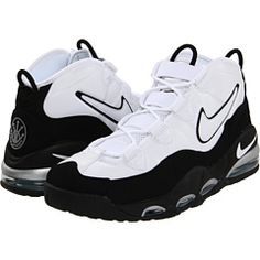 Nike Air Max UpTempo, I thought I was so cool in 8th grade. Beat shoe year ever.