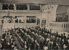 Meclis-i Mebusan 1908 Abdülhamit'in locaya gelişi