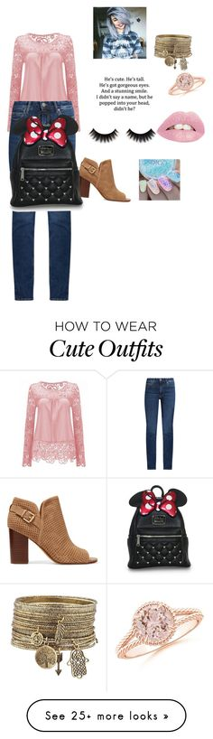 """cute outfit idea for her"" by inspiredbyart345 on Polyvore featuring Sam Edelman and M.i.h Jeans"