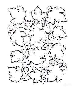 Leaf Quilt Block 10