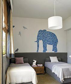 10 ideas para decorar la pared cuando no se puede empapelar  