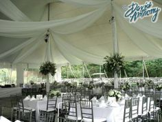 Swagging design in Tent, Montgomery, ny