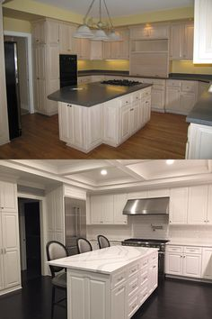 Before And Semi After: Our Kitchen (in Progress)! Walls Are Painted