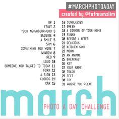 March Challenge!