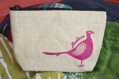 Eco-friendly Cosmetic Bags. #giving back #madebysurvivors www.lussobags.com #ADayWellLived