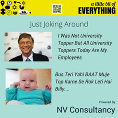 If You Like The Joke Now Like Our Page Too :P https://www.facebook.com/pages/NV-Consultancy/1560902510845305?fref=nf