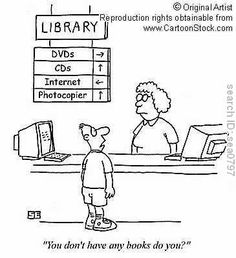 Carole's Chatter: Library Cartoon