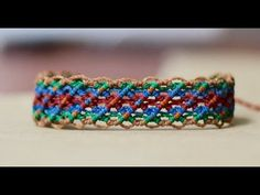 tutorial pulseras de hilo faciles | friendship bracelet tutorial - YouTube