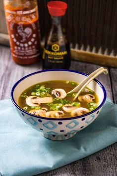 Japanese Clear Onion Soup