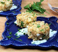 Baked Horseradish Crab Cakes | Generation Y Foodie