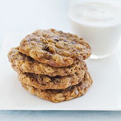 Oatmeal Chocolate Raisin Cookies
