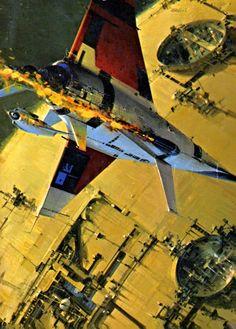 Space Ship - John Berkey, 1972