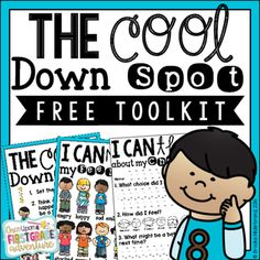 Cool Down Spot Free Toolkit Once Upon a Learning Adventure: Focus on.Classroom Management Part Three: Cool Down and ReflectOnce Upon a Learning Adventure: Focus on.Classroom Management Part Three: Cool Down and Reflect Classroom Behavior Management, Behaviour Management, Management Tips, Behavior Rewards, Behavior Plans, Behavior Charts, Class Management, Conscious Discipline, Social Emotional Learning