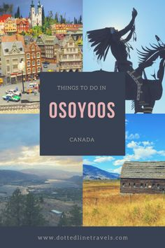 Things to do in beautiful Osoyoos, BC, Canada! Osoyoos Bc, Places To Travel, Places To See, Stuff To Do, Things To Do, Wine Tourism, Us Destinations, Western Canada, Canada Travel