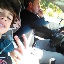 The kind of bf I want. Someone who will take selfies with his dad.