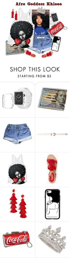 """""""Afro American Goddess : Khloee"""" by africanamericangoddess ❤ liked on Polyvore featuring Insten, Cartier, Dorothy Perkins, Kate Spade, BaubleBar, Casetify and Garrard"""