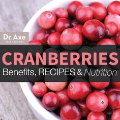 Cranberry Health Benefits and Recipes Title