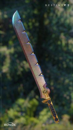 Destiny 2 Warlock sword Highpoly and in-game model Concept Art by Adrian Majkrzak (Eternity's Edge - Warlock sword) www.artstation.com/ghostorbit Character Art by Rosa Lee (Ego Talon IV - Warlock armor set) www.artstation.com/kokoly777