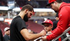 Nikola Mirotic finally has some interaction with Bobby Portis = Chicago Bulls forward Nikola Mirotic attended his first game since his fight with teammate Bobby Portis, sitting on the bench in street clothes during.....
