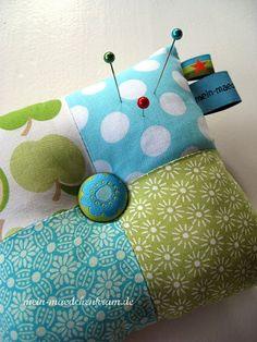Cute needle pillow