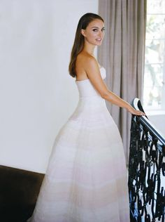 Natalie Portman – Dior advert promo shots, 2013. Love that dress!!!