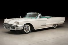 allamericanclassic: 1959 Ford Thunderbird Classic and antique cars. Sometimes custom cars but mostly classic/vintage stock vehicles. Ford Motor Company, Thunderbird Car, Ford America, Old American Cars, Thunderbirds Are Go, Mustang Convertible, Unique Cars, Ford Fairlane, Classic Cars