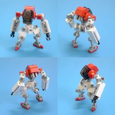 Delightfully ugly and misshapen! The lower leg is one of these for everybody too lazy to search Bricklink.