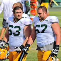 Green Bay Packers Don Barclay GAME Jerseys