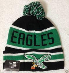 b35c0462a18 NFL Philadelphia EAGLES Mens Pom Beanie Cap By New Era Nfl Philadelphia  Eagles