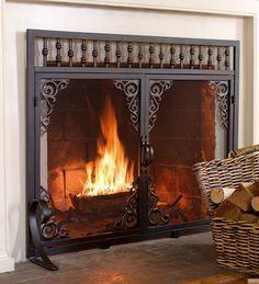9 best wrought iron fire screens images fireplace hearth fire rh pinterest com