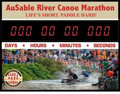 Countdown to race day Paddle Hard Brewing company