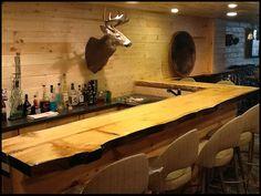 Restaurant Copper Bar Top w/ Epoxy