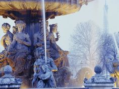 Videos of Cityscapes and Landscapes - No Prints! Concorde, France Europe, Paris France, Fountain, Landscape, City, Prints, Poster, Painting