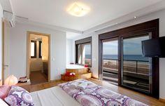 Villa Lahania Thalassa, Rhodes Greece Rhodes, Plan Design, Open Plan, Ideal Home, Master Bedroom, Villa, Vacation, Modern, House
