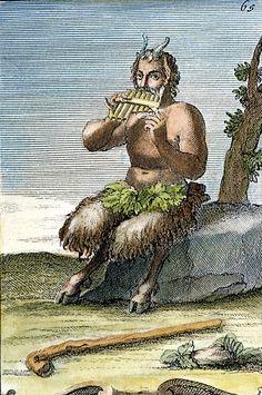 Pan, The Nature-god Photographed by Granger Greek And Roman Mythology, Greek Gods, Pan Mythology, Fairies Mythology, Greek Pantheon, Roman Gods, Ancient Myths, Green Man, Gods And Goddesses