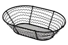 American Metalcraft (WSB69) 6 x 9 Wavy Sided Oval Mesh Bottom Basket * Huge discounts available at : Baking tools