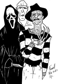 My tribute to Wes Craven. Freddy from Nightmare on elm street c120cd22a