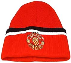 United for Ever Red Bronx Hat with United for Ever Crest