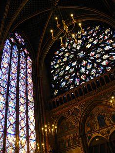 Sainte Chapelle's rose window