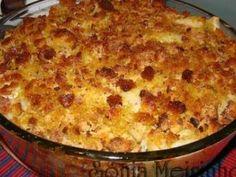 Bacalhau com batatas no forno com crosta de broa, Receita Petitchef